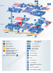 Pulkovo 2 Airport Map