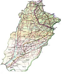 Punjab Guide Map