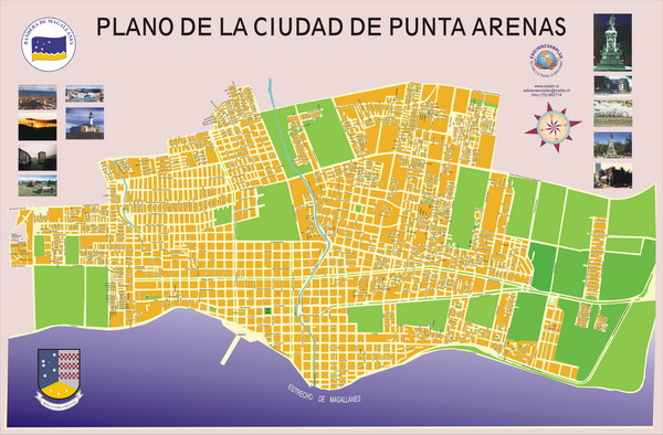 Punta Arenas Map