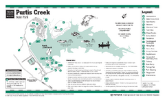 Purtis Creek, Texas State Park Facility and Trail...