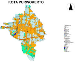 Purwokerto City Map