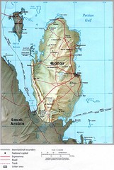 Qatar Country Map
