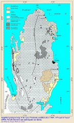 Qatar geological Map