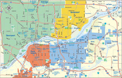 Quad Cities Map