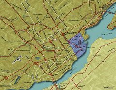 Quebec City Tourist Map