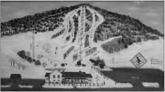 Quechee Club Ski Trail map