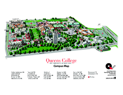 Queens College Campus Map