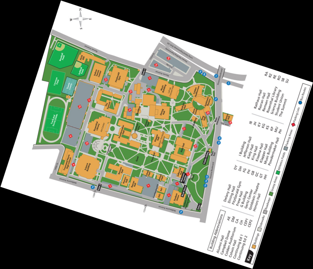 queens university of charlotte campus map Queens College Map Queen039s College Mappery queens university of charlotte campus map