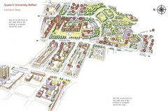Queen's University Belfast Map