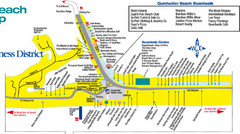 Quitewater Beach Boardwalk Map