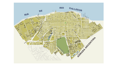 Río Gallegos City Map