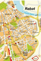 Rabat city Map