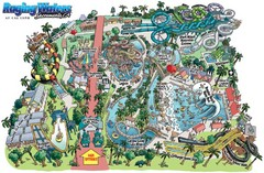 Raging Waters Sacramento Map