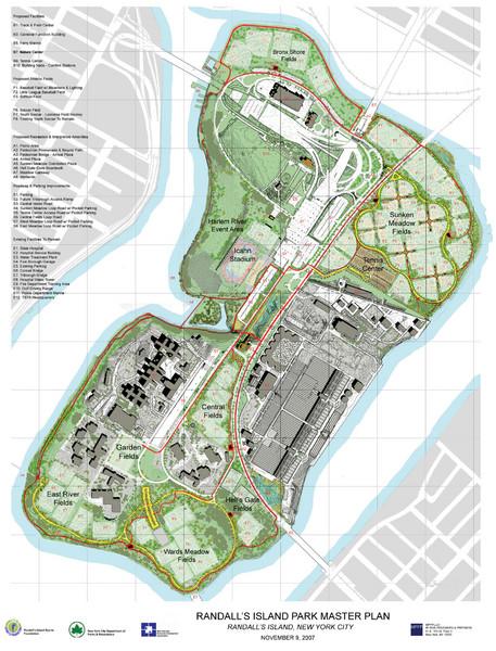 Randall\'s Island Map Randall's Island Field Map | compressportnederland