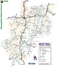 Randolph County Trail Map