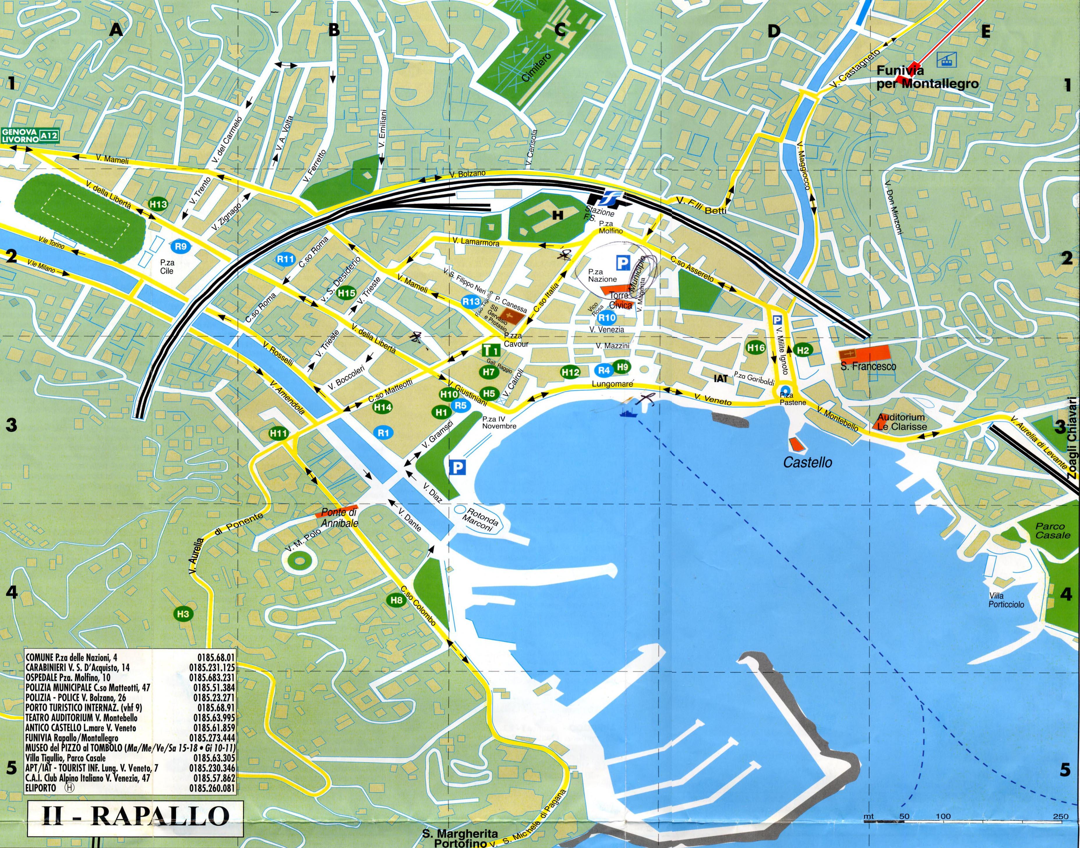 Rapallo Italy Cruise Port Of Call