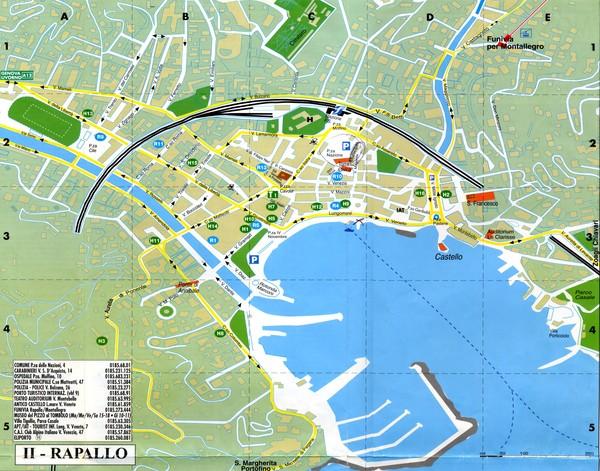 portofino map portofino italy mappery