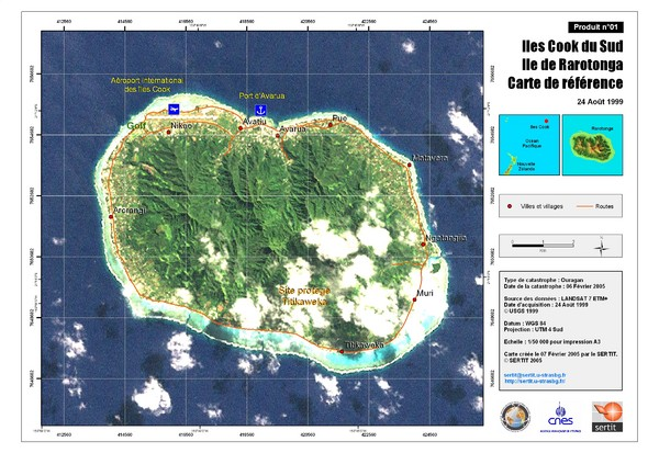 Atiu Map Atiu Cook Islands mappery