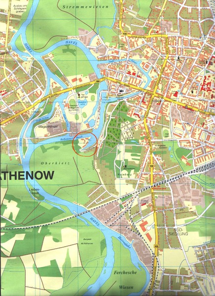 Rathenow Map