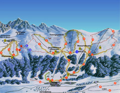 Ratschings / Racines Ski Trail Map