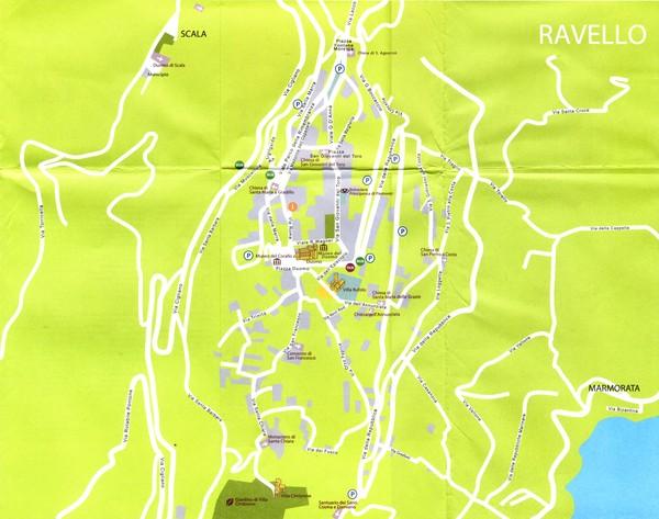 Ravello Map Ravello Mappery