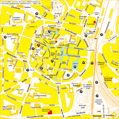 Recklinghausen Map