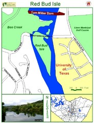 Red Bud Isle Park Map