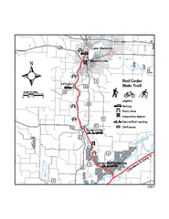 Red Cedar State Trail Map