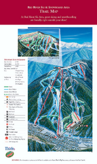 Red River Ski Area Ski Trail Map