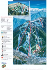 Red River Ski Trail Map
