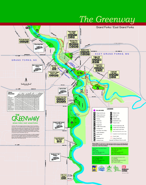 Red River State Recreation Area Map