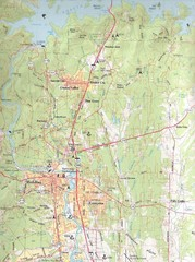 Redding, California City Map