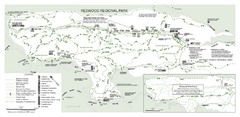 Redwood Regional Park Map