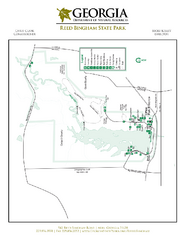 Reed Bingham State Park Map