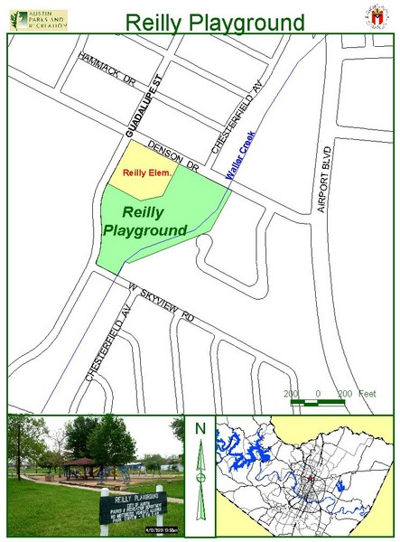 Reilly Playground Map