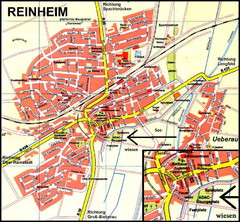 Reinheim Map