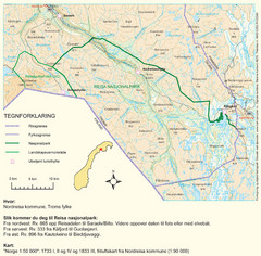 Reisa National Park Map