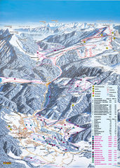 Reit im Winkl Ski Trail Map