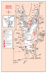 Rend Lake State Park, Illinois Site Map