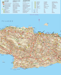 Rent a Car Heraklion Airport Map