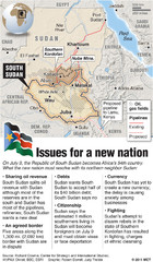 Republic of South Sudan Map