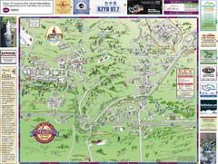 Resort Maps of Eagle River Valley Map