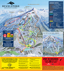 Revelstoke Ski Trail Map 2010-11