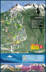 Revelstoke Ski Trail Map