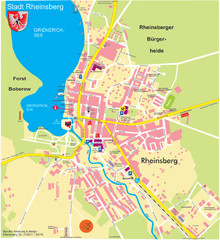 Rheinsberg Map