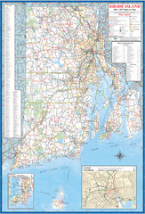 Rhode Island Road Map