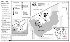 Rice Lake State Park Map
