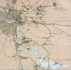 Richmond Area Civil War Battle Map