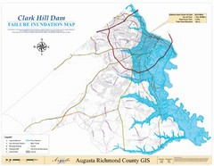 Richmond County Failure Inundation Map