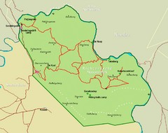 Richtersveld Transfrontier National Park Map